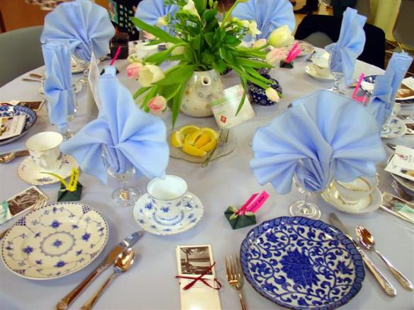 High Tea by the FBI (Friends of the Braille Institute)