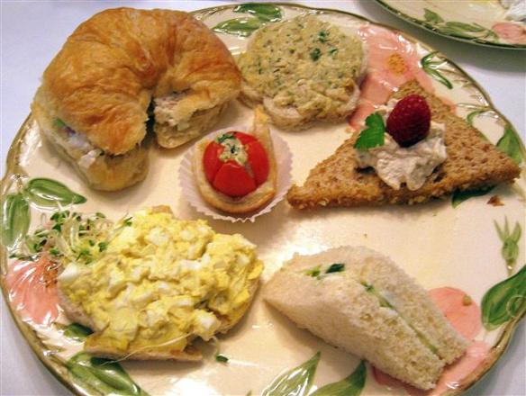 Sandwiches and savory