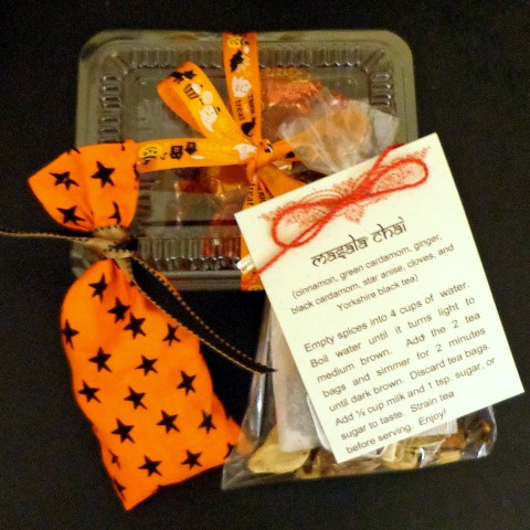 Witches Tea favors, ripe with magick herbs and spices