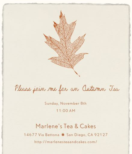 invitationautumntea