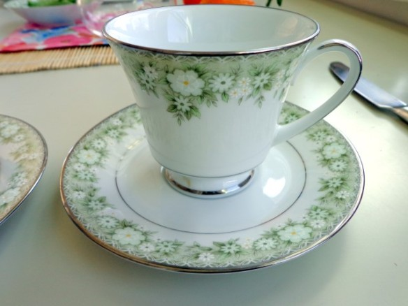 Noritake bone china tea cup