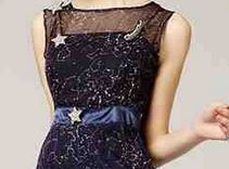 Dress with constellations--Tribute to Galileo