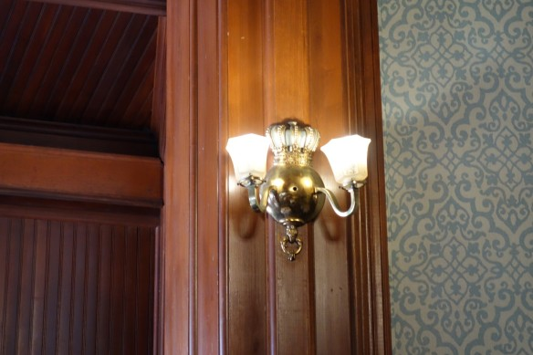 I liked the crown themed wall sconces