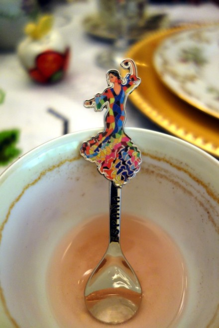The teaspoon that inspired an afternoon tea!