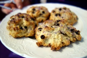 Baked scones by Lady B.