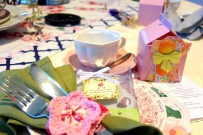 Kimono tea favor box