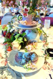 Loved the table decor!